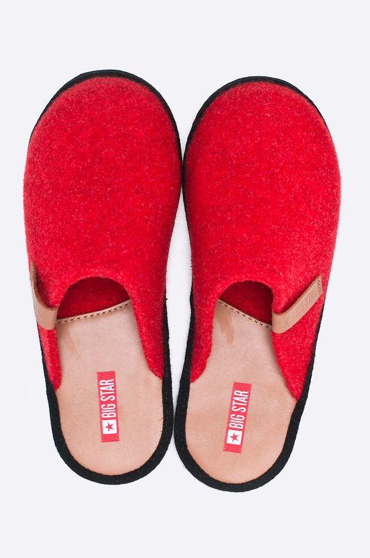 Big Star - Papuče červená