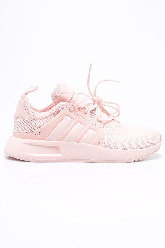 ružová adidas Originals - Detské topánky X Plr Dievčenský