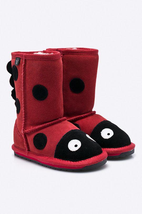 Emu Australia - Cizme copii Ladybird rosu