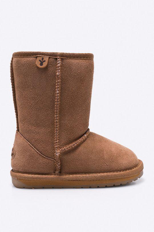 zlatohnědá Emu Australia - Dětské boty Wallaby Lo Dívčí