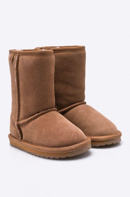 Emu Australia - Dětské boty Wallaby Lo zlatohnědá