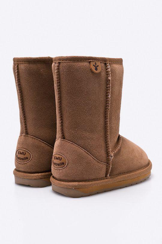 zlatohnědá Emu Australia - Dětské boty Wallaby Lo