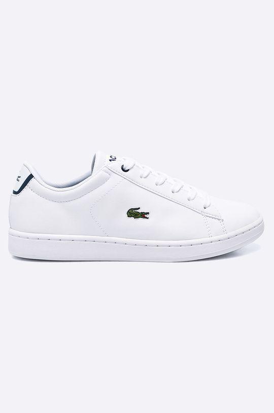 alb Lacoste - Pantofi copii Carnaby De fete