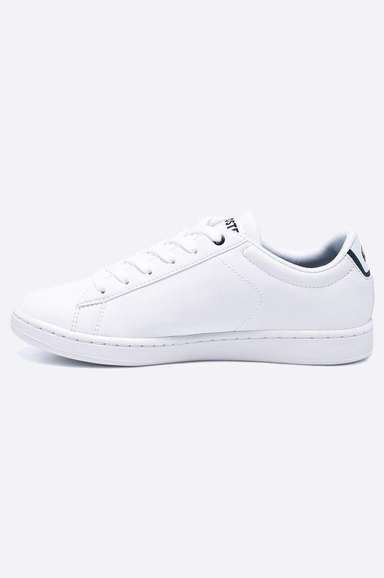 Lacoste - Dětské boty Carnaby  Svršek: Umělá hmota Vnitřek: Textilní materiál Podrážka: Umělá hmota