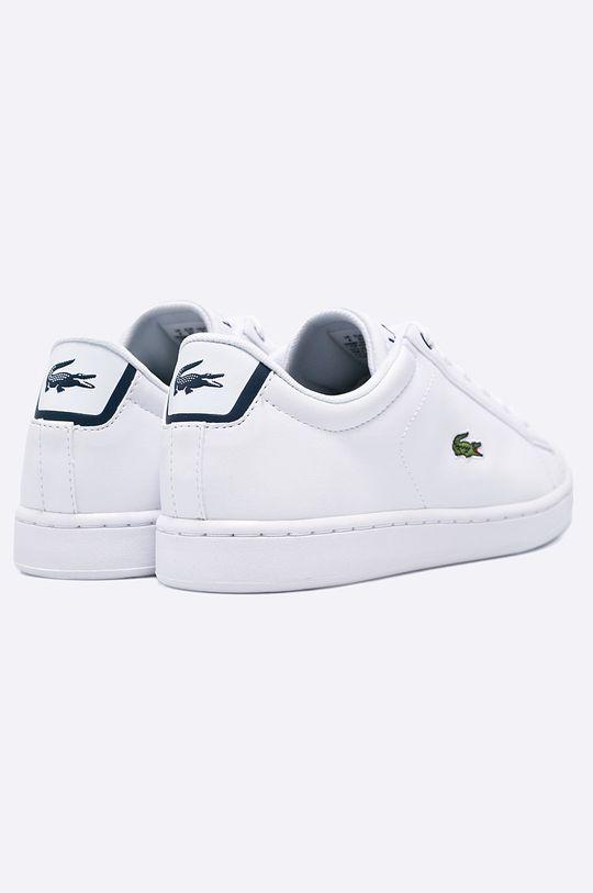 bílá Lacoste - Dětské boty Carnaby