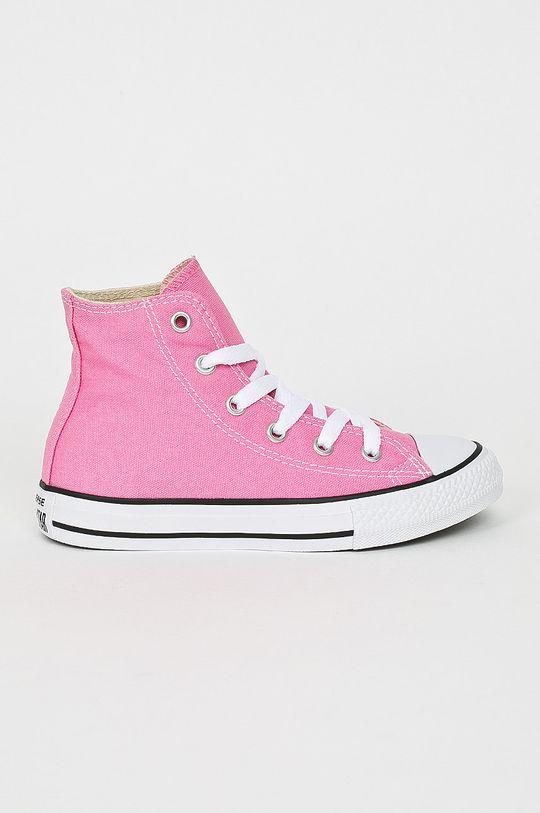 ostrá růžová Converse - Dětské kecky Dívčí