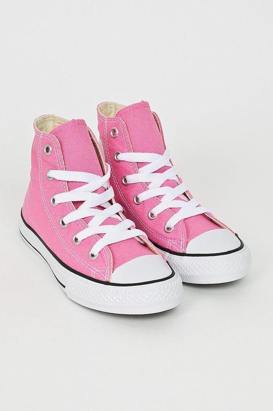 Converse - Dětské kecky ostrá růžová