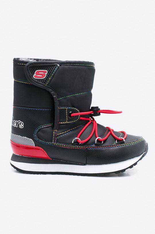 čierna Skechers - Detské topánky Dievčenský
