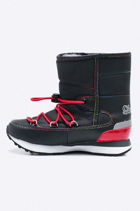Skechers - Detské topánky <p>Zvršok: Syntetická látka Vnútro: Textil Podrážka: Syntetická látka</p>