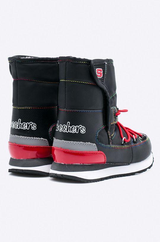 čierna Skechers - Detské topánky