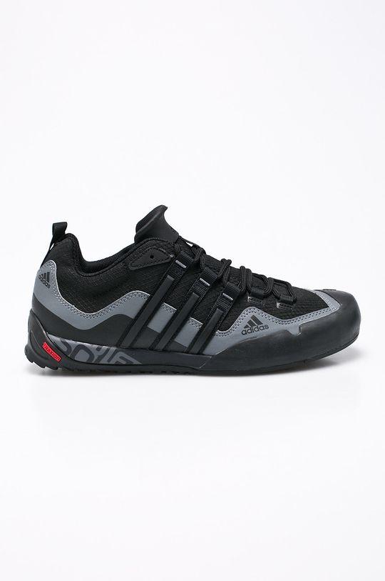 černá adidas Performance - Boty Terrex Swift Solo Pánský