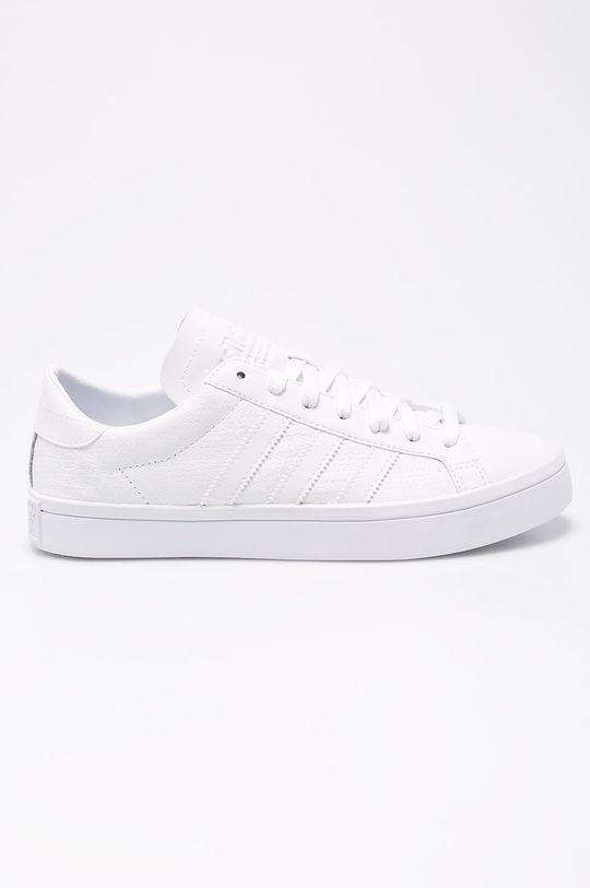 biela adidas Originals - Topánky Courtvantage Pánsky