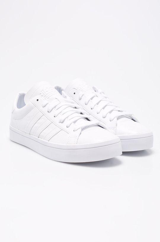 adidas Originals - Topánky Courtvantage biela