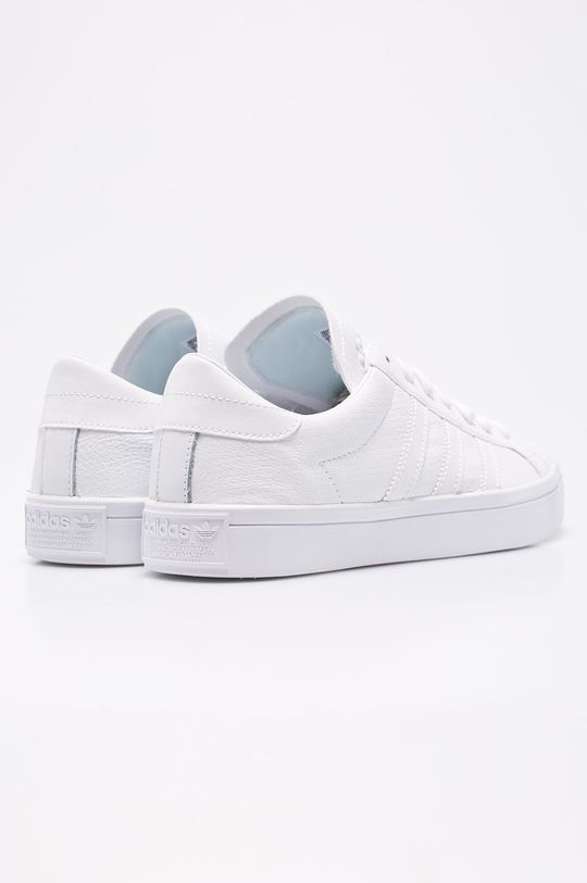 biela adidas Originals - Topánky Courtvantage