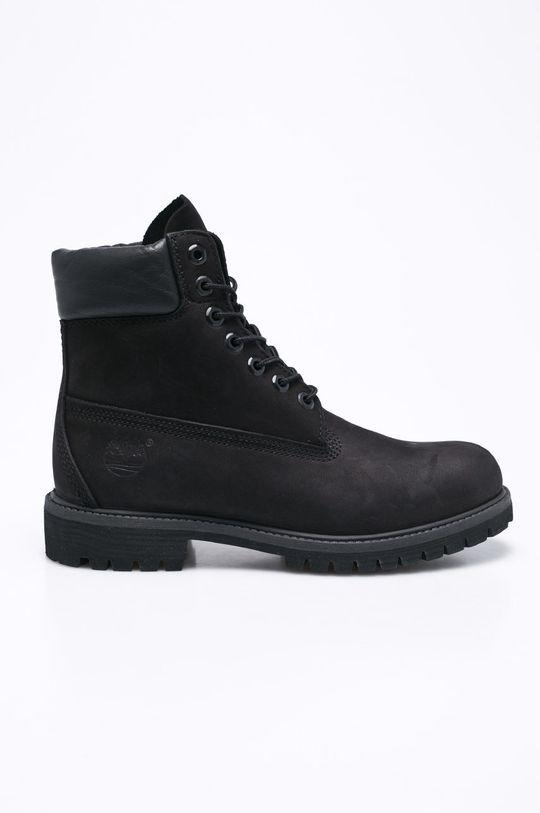 černá Timberland - Kotníkové boty Pánský