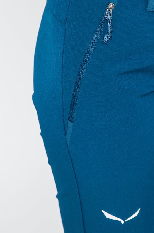tmavomodrá Salewa - Snowboardové nohavice
