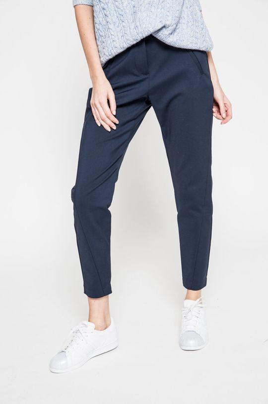 granatowy Vero Moda - Spodnie Victoria Damski