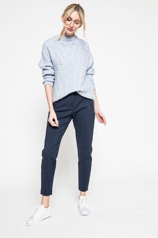 Vero Moda - Spodnie Victoria granatowy