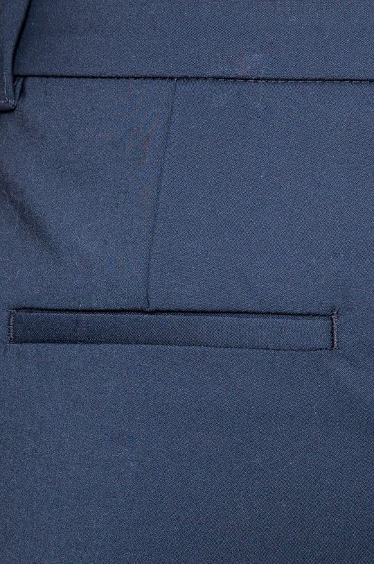 granatowy Vero Moda - Spodnie Victoria
