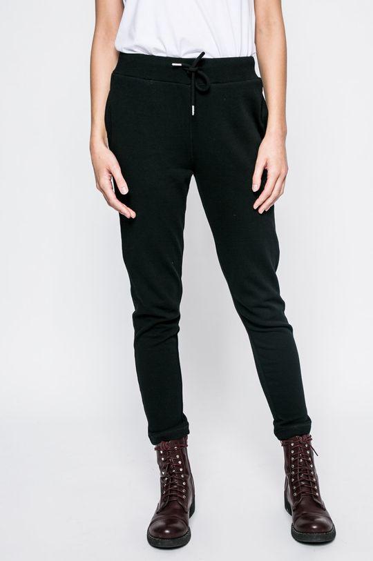 černá Diesel - Kalhoty Dámský