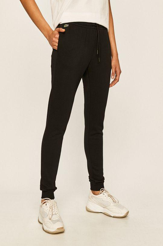 černá Lacoste - Kalhoty Dámský