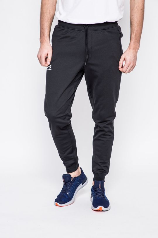 černá Under Armour - Kalhoty Sportstle Pánský
