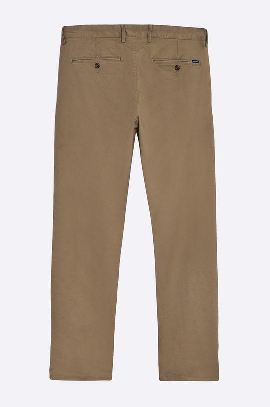 Gant - Spodnie złoty brąz