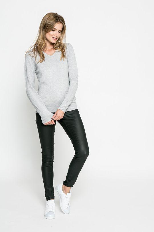 Vila - Sweter jasny szary