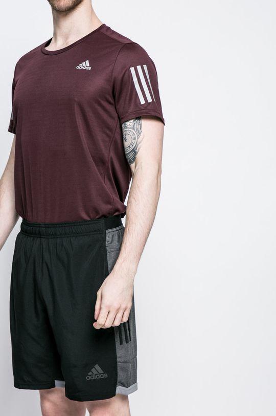 čierna adidas Performance - Pánske šortky Pánsky