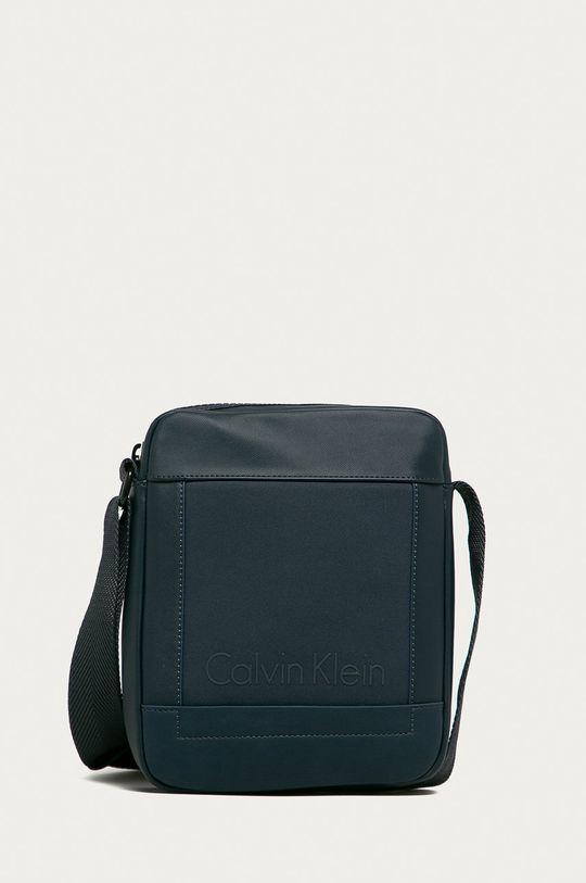 tmavomodrá Calvin Klein Jeans - Malá taška Pánsky