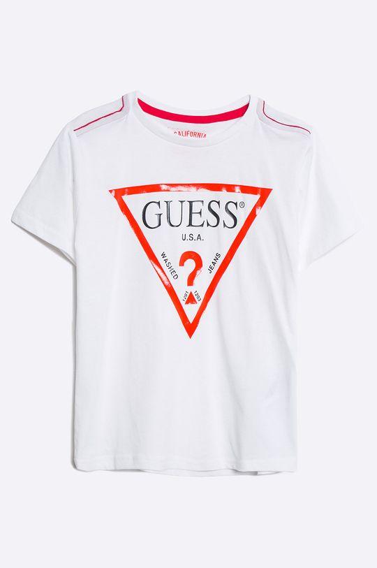 biały Guess Jeans - T-shirt dziecięcy 118-175 cm Chłopięcy