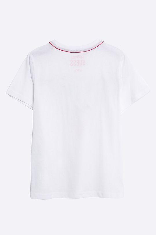 Guess Jeans - T-shirt dziecięcy 118-175 cm biały