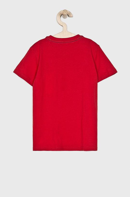 Guess Jeans - T-shirt dziecięcy 118-175 cm czerwony