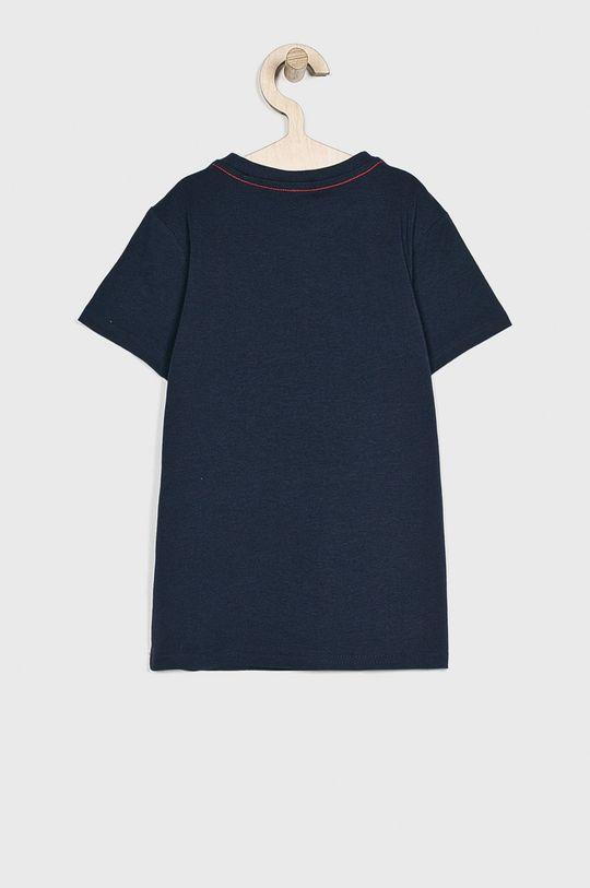 Guess Jeans - T-shirt dziecięcy 118-175 cm granatowy