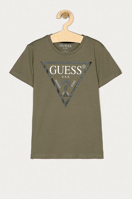 okrová Guess Jeans - Dětské tričko 116-176 cm Chlapecký