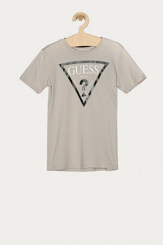 szary Guess Jeans - T-shirt dziecięcy 116-176 cm Chłopięcy