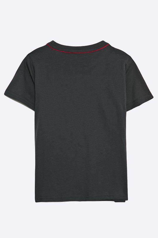 Guess Jeans - T-shirt dziecięcy 118-175 cm czarny