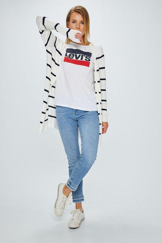 Levi's - Top The Perfect Tee Sportswear biały