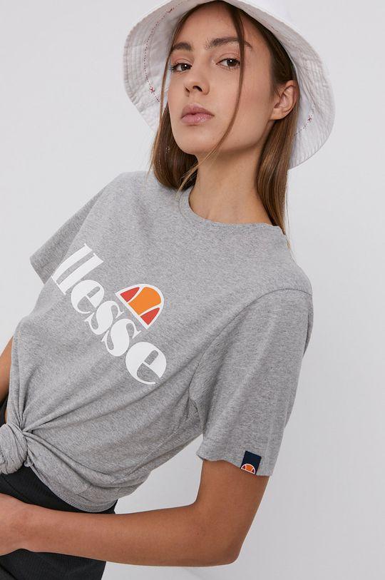 jasny szary Ellesse - T-shirt