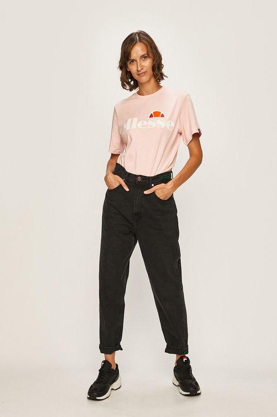 Ellesse - Футболка яскраво-рожевий