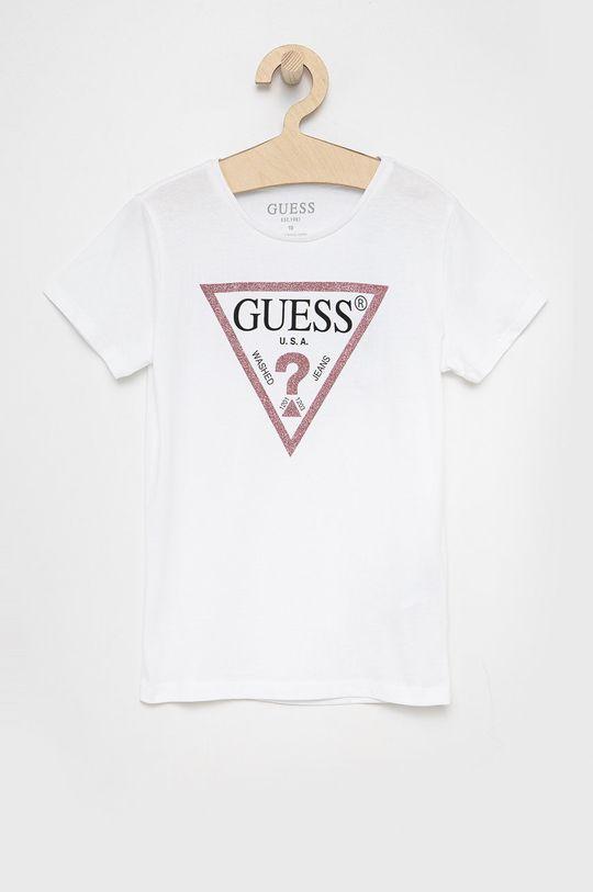 biały Guess Jeans - Top dziecięcy 125-175 cm Dziewczęcy