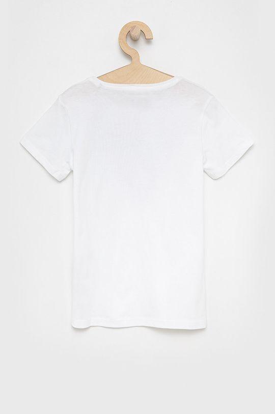 Guess Jeans - Top dziecięcy 125-175 cm biały