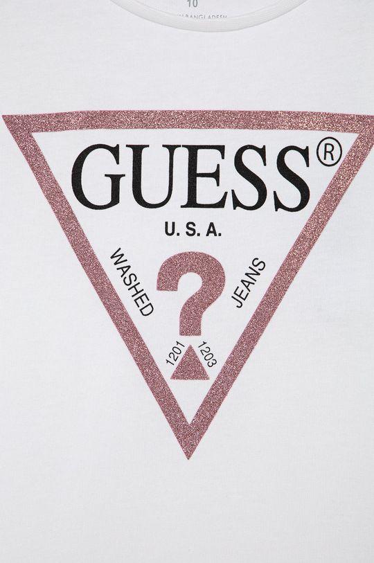 Guess Jeans - Top dziecięcy 125-175 cm 100 % Bawełna