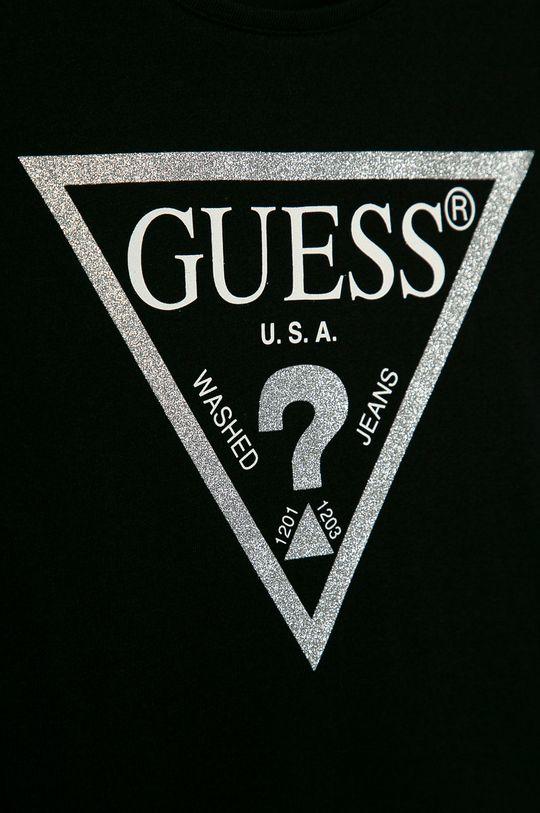 Guess Jeans - Dětský top 125-175 cm černá