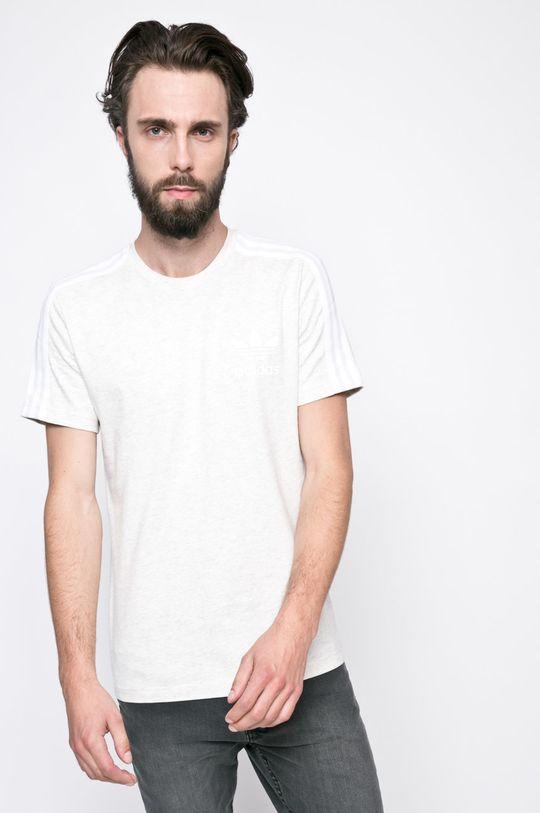 светлосив adidas Originals - Тениска Чоловічий