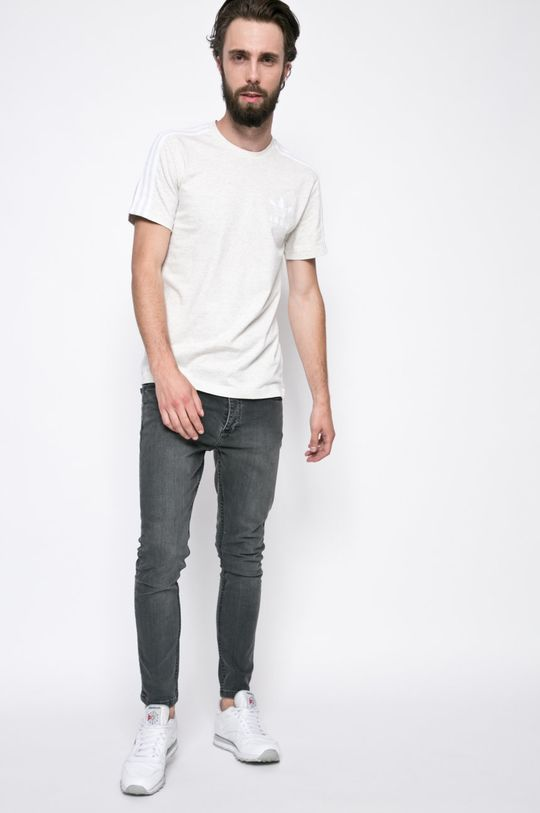 adidas Originals - Тениска светлосив