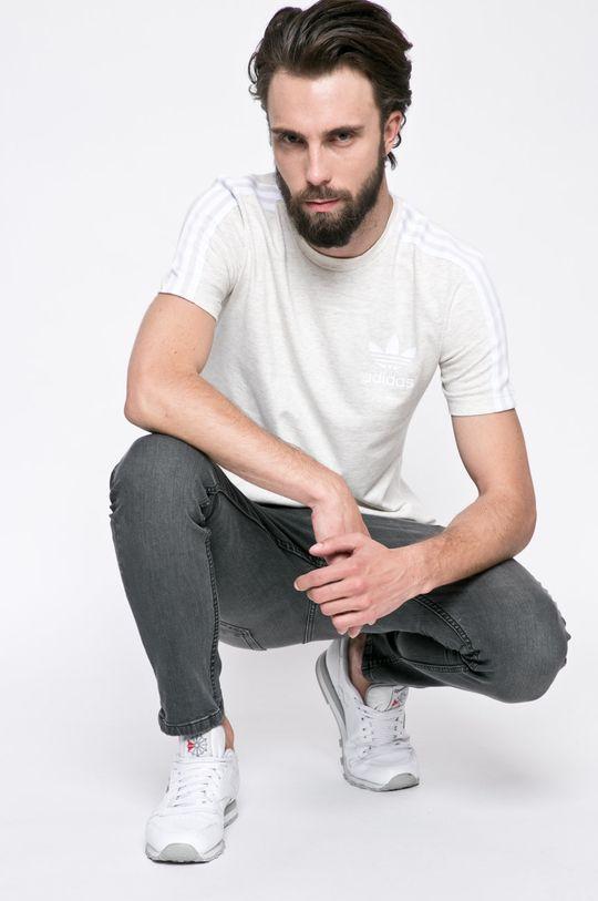 светлосив adidas Originals - Тениска
