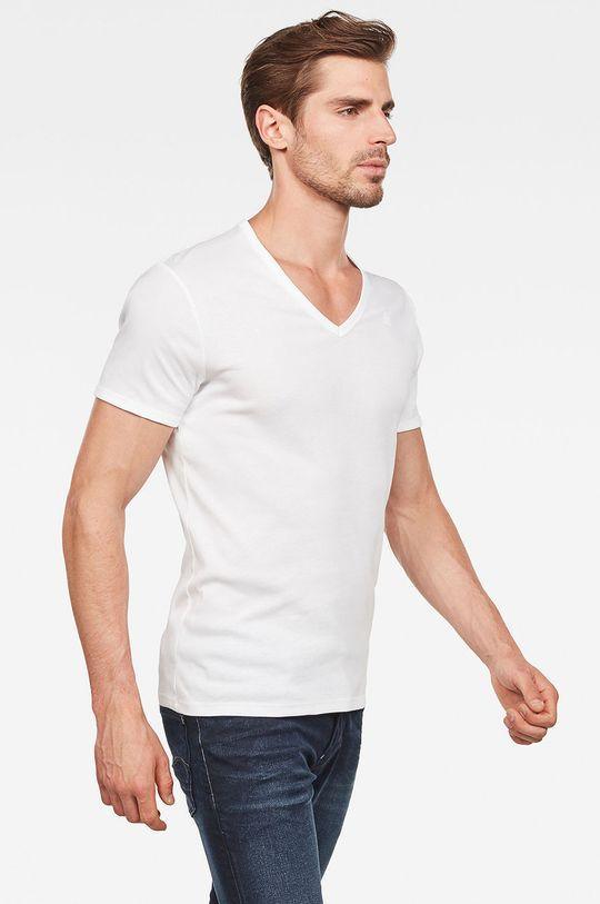 G-Star Raw - T-shirt (2-pack) biały