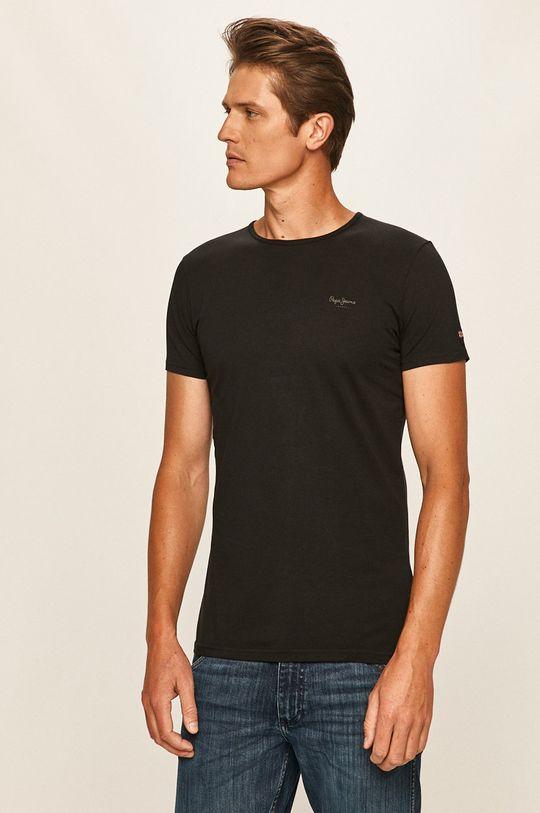 černá Pepe Jeans - Tričko
