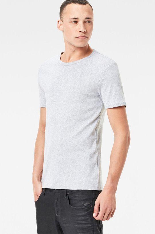 G-Star Raw - T-shirt (2-pack) niebieski